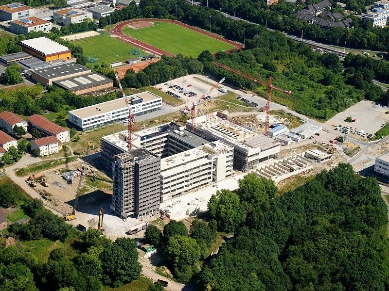 Gesundheitscampus NRW, © Riedel Bau/Josef Müller Luftbilder