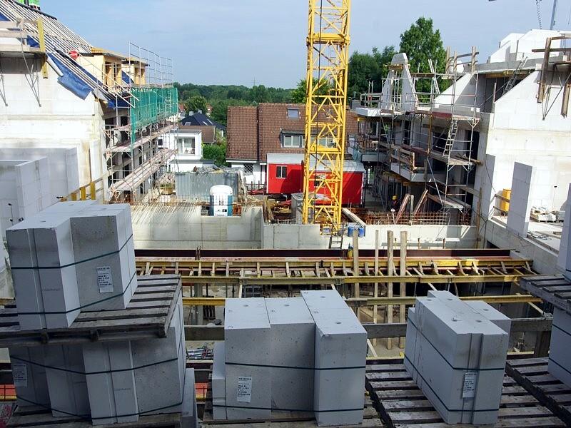 Baustelle an der Südstraße in Wülfrath